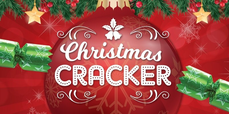 Christmas Cracker Web Event Listing 800X400