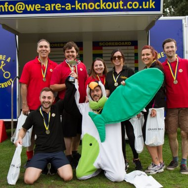 The Grand Pier Team Which Won The First Hospicecare Knockout