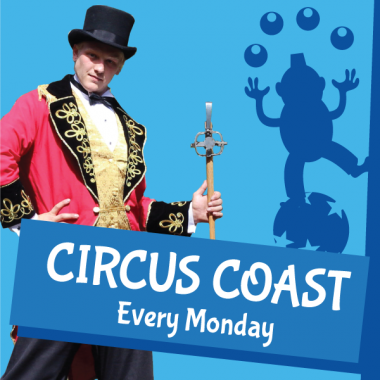 Circus Coast Website Thumbnail